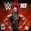 WWE 2K18 Seth Rollins Cover Art