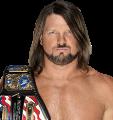 AJ Styles US Champ 2019