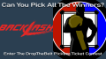 Story Image for WWE BackLash 2020 Pick'em Ticket Contest