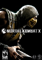 Mortal Kombat X Cover art