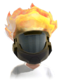 Halo Reach Noble map pack flaming head