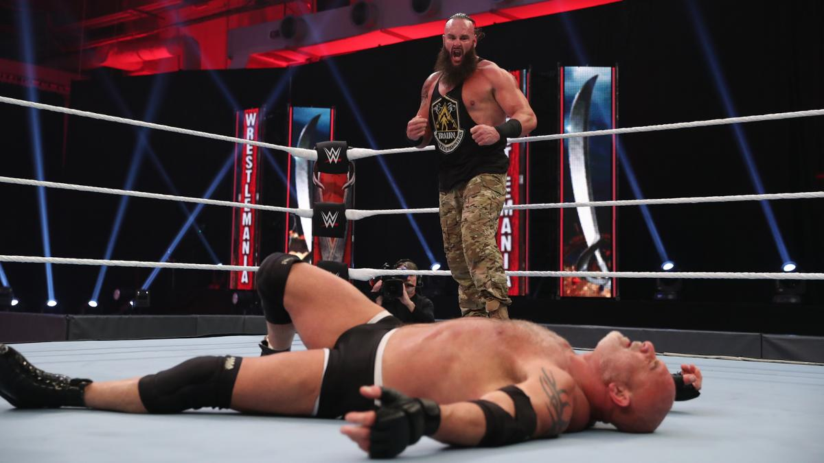 WrestleMania 4/4/2020
