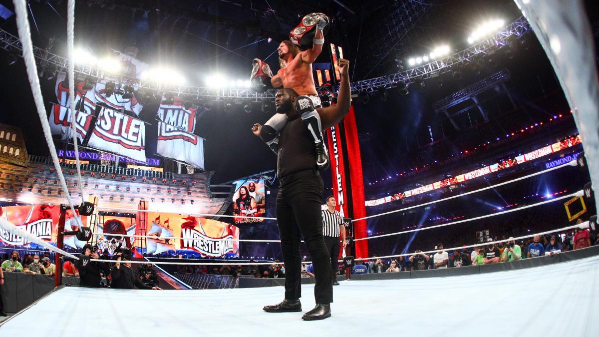 WrestleMania 4/10/2021