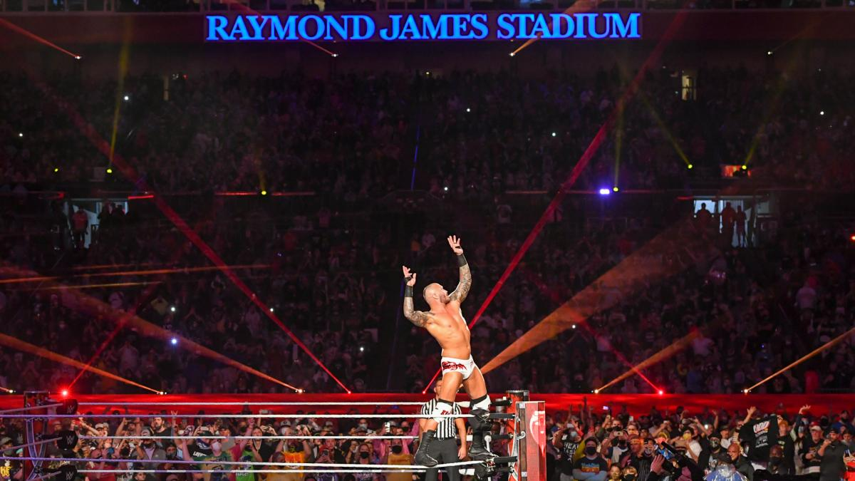 WrestleMania 4/11/2021