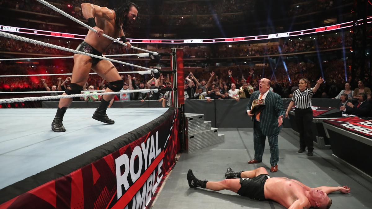 Royal Rumble 1/26/2020