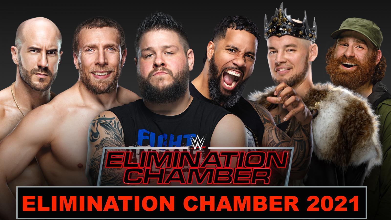 Elimination Chamber 2/21/2021